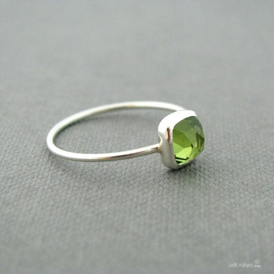 Peridot Ring by Judit Matyus